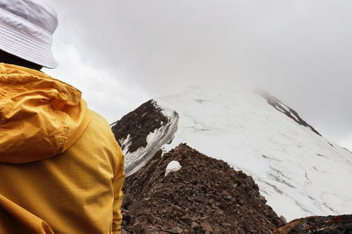 คลังภาพถ่ายฟรี ของ ขาว, ภูเขา, หิมะ