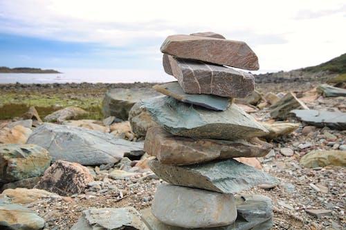 Free stock photo of beach, rocks, sea, stones