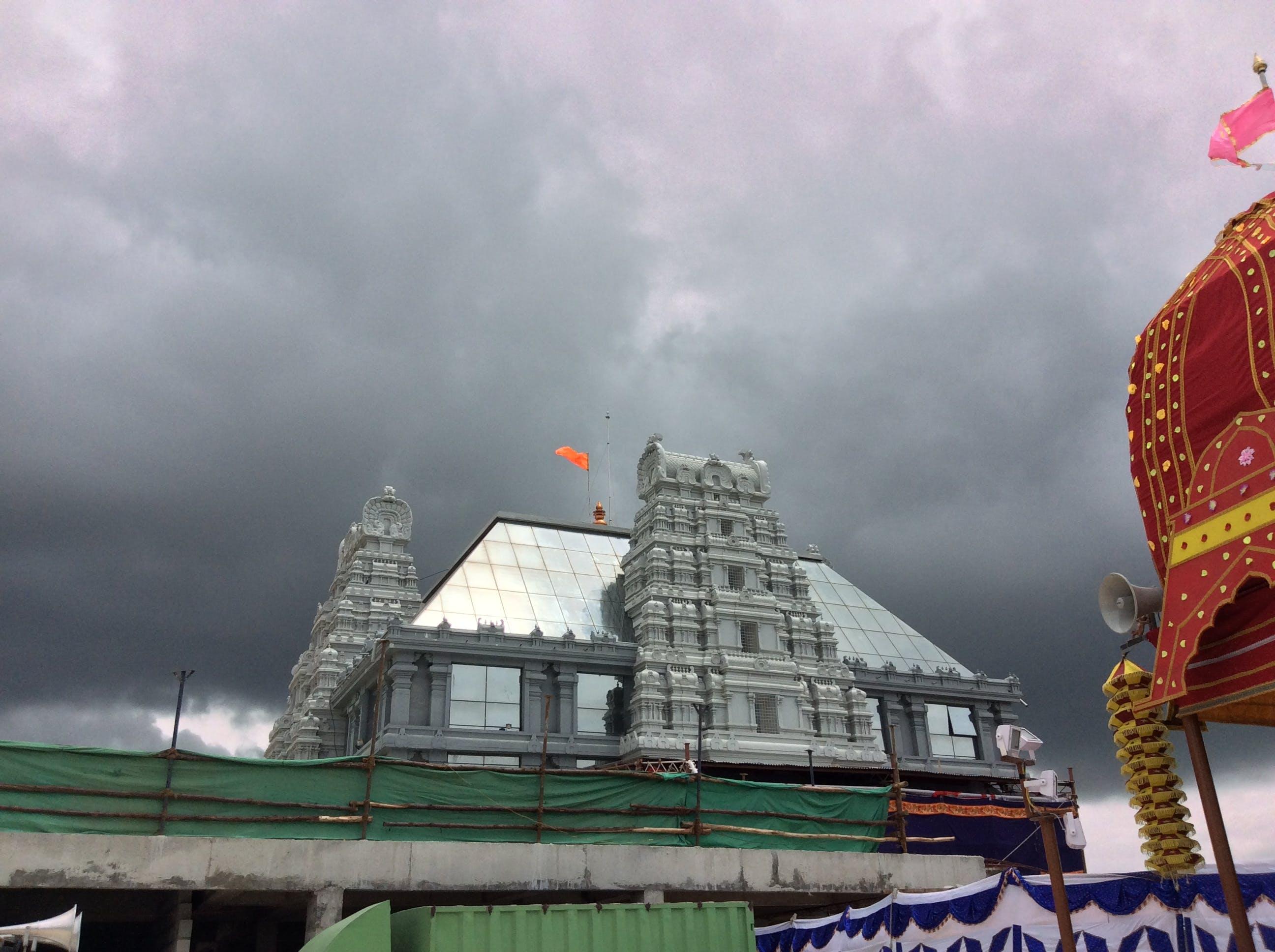 Free stock photo of Iskcon, temple