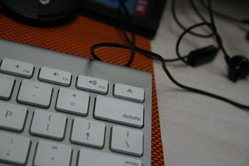 Free stock photo of delete, keyboard