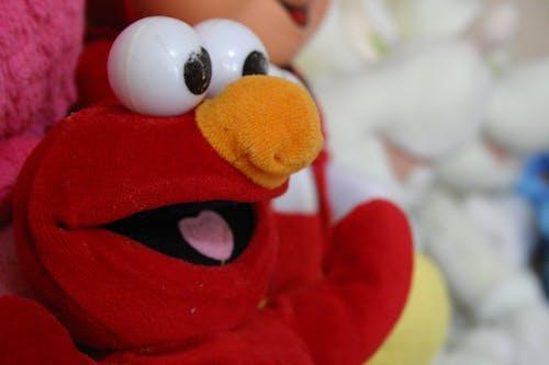 Free stock photo of children toys, elmo, sesame street