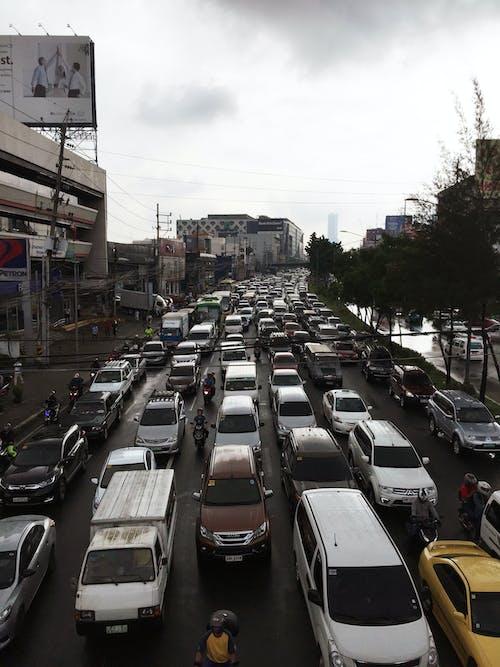 Free stock photo of cars, traffic