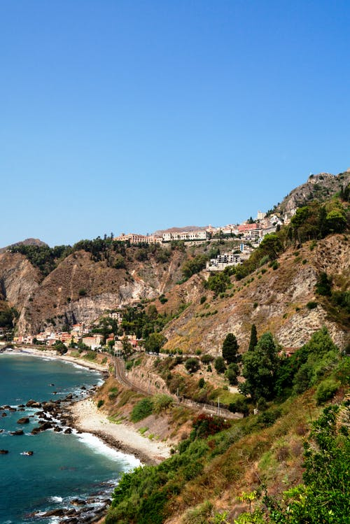 deniz suyu, İtalya, köy, manzara içeren Ücretsiz stok fotoğraf