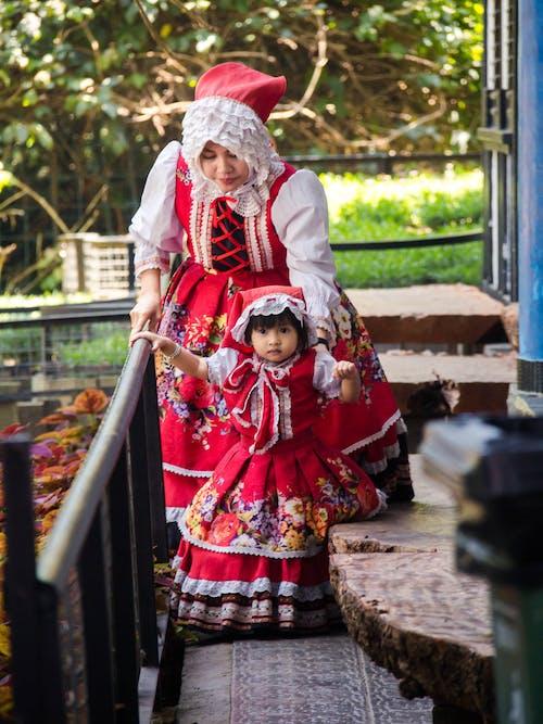Free stock photo of child, costume, cute girl, little girl