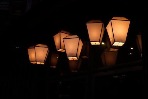 Бесплатное стоковое фото с контраст, огни, спокойный