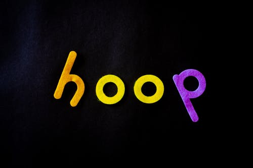 Hoop Text