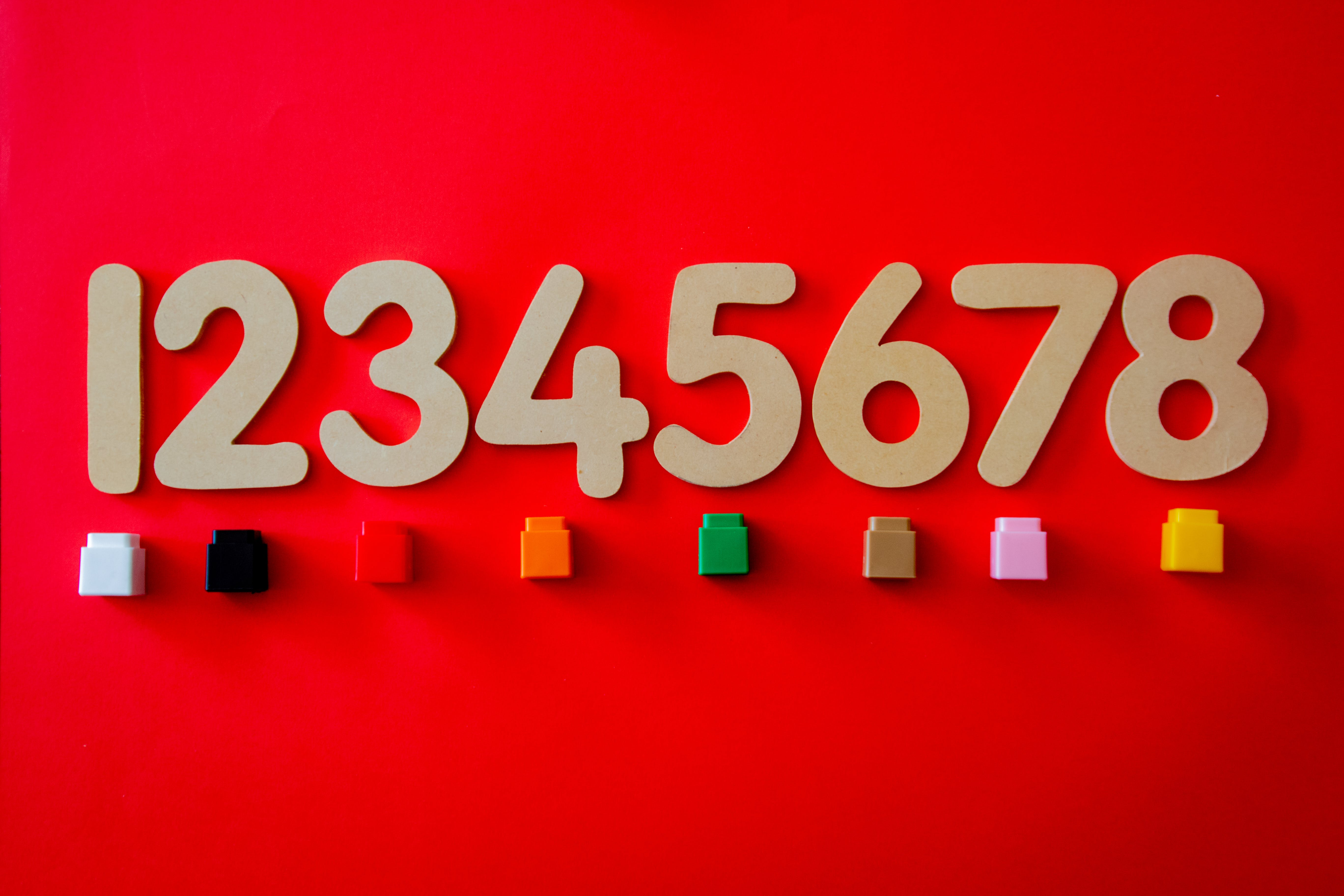 Number Cutout Decors