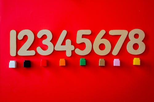 Foto stok gratis angka, hitung-hitungan, matematika, memblokir