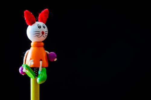 アート, ウサギ, おもちゃ, カラフルの無料の写真素材