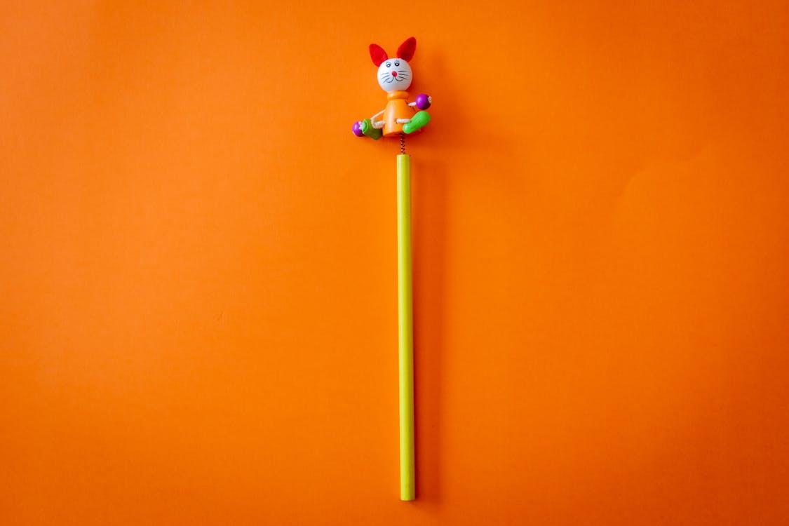 băț, colorat, creativitate