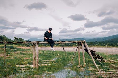 Gratis arkivbilde med åker, alene, bro, dagslys