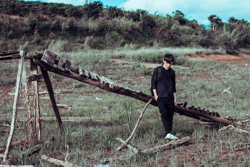 Darmowe zdjęcie z galerii z czarny, czas wolny, dorosły, krajobraz