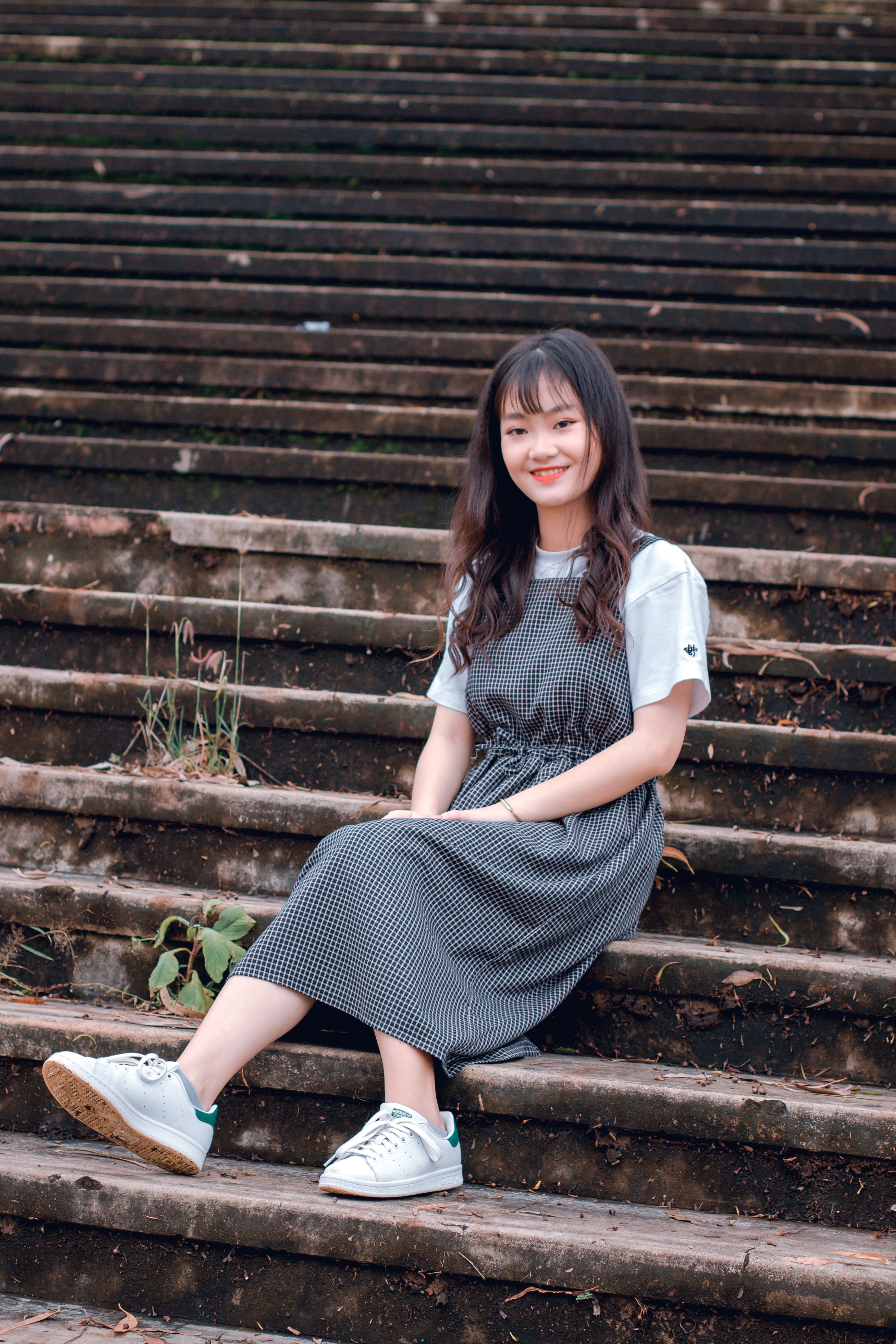 Free stock photo of Asian, asian girl, dress, girl