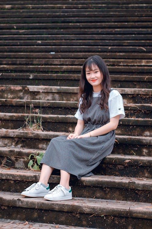 Gratis stockfoto met aantrekkelijk mooi, Aziatisch meisje, Aziatische vrouw, buiten