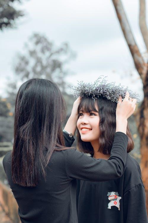 Základová fotografie zdarma na téma asijské holky, denní, hezký, holky