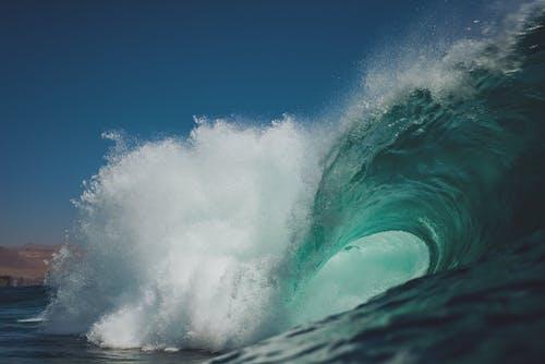 Gratis stockfoto met Chili, energie, golven, grote Oceaan