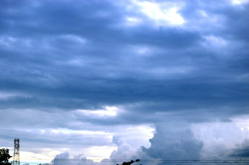 Foto stok gratis biru, hari hujan, langit, langit biru