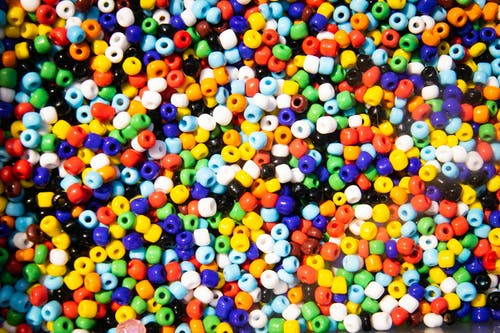 Assorted-color Beads