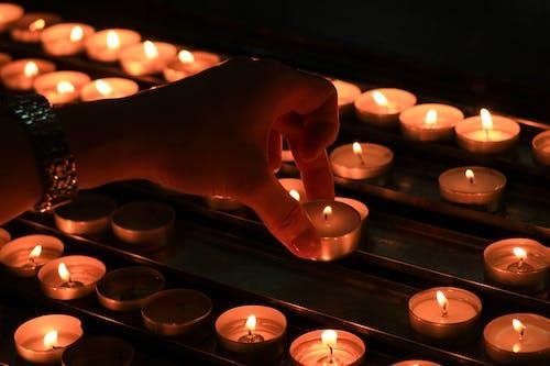 Free stock photo of burn, burning, candle