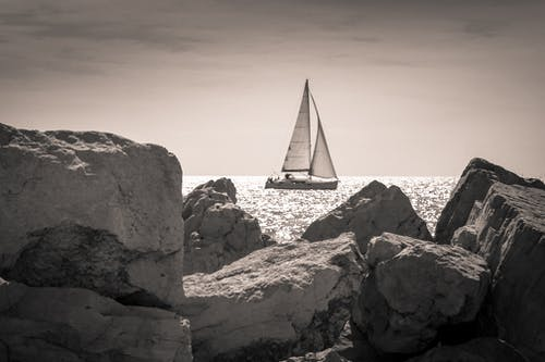 Free stock photo of boat, calm, calm waters