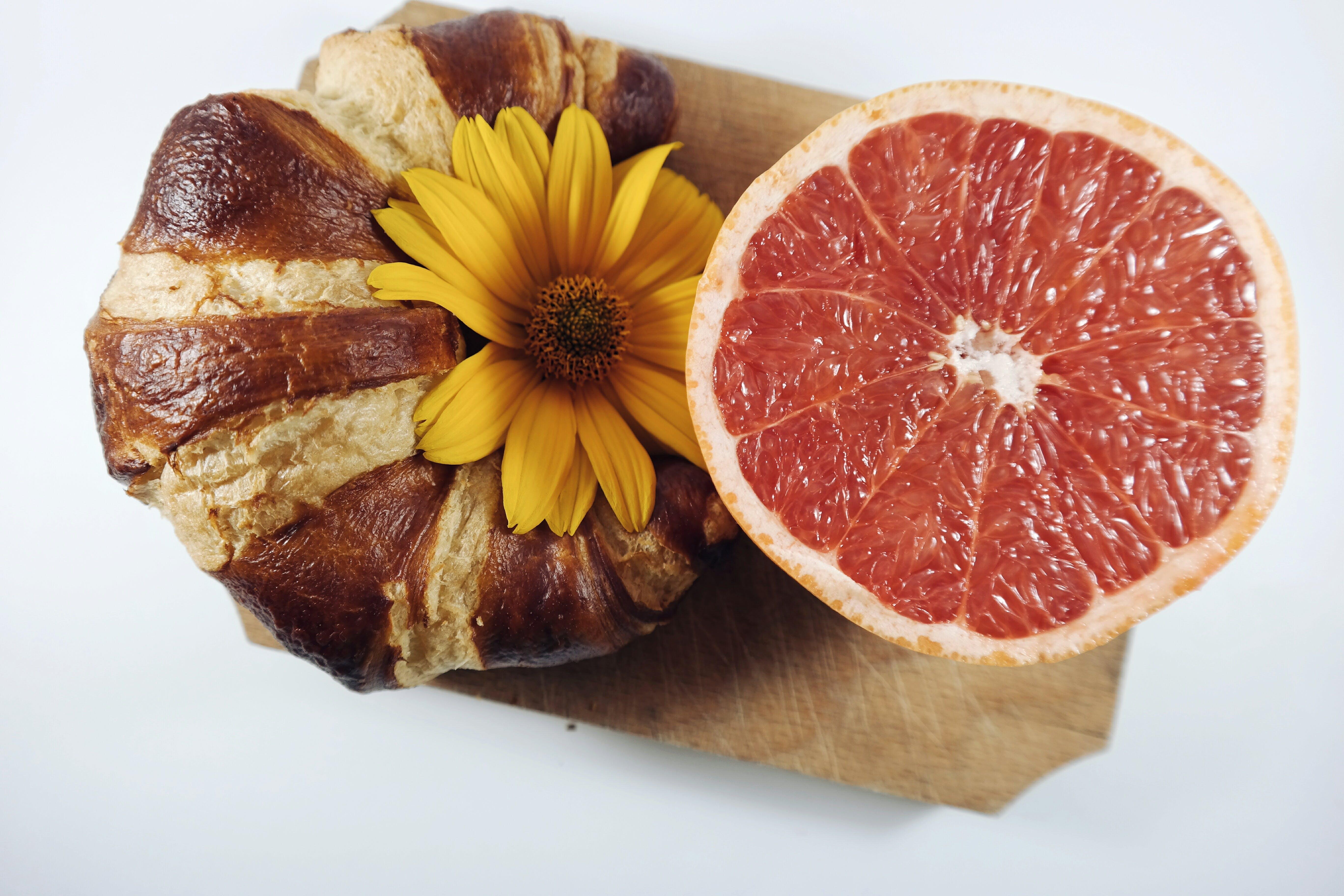 bread, croissant, flora