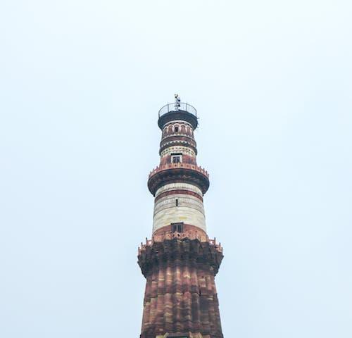 Free stock photo of qutub minar