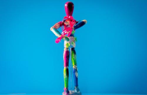 Бесплатное стоковое фото с игрушка, Искусство, красочный, манекен