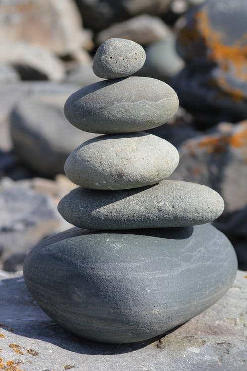 Gratis lagerfoto af balance, balancering, glat, grus