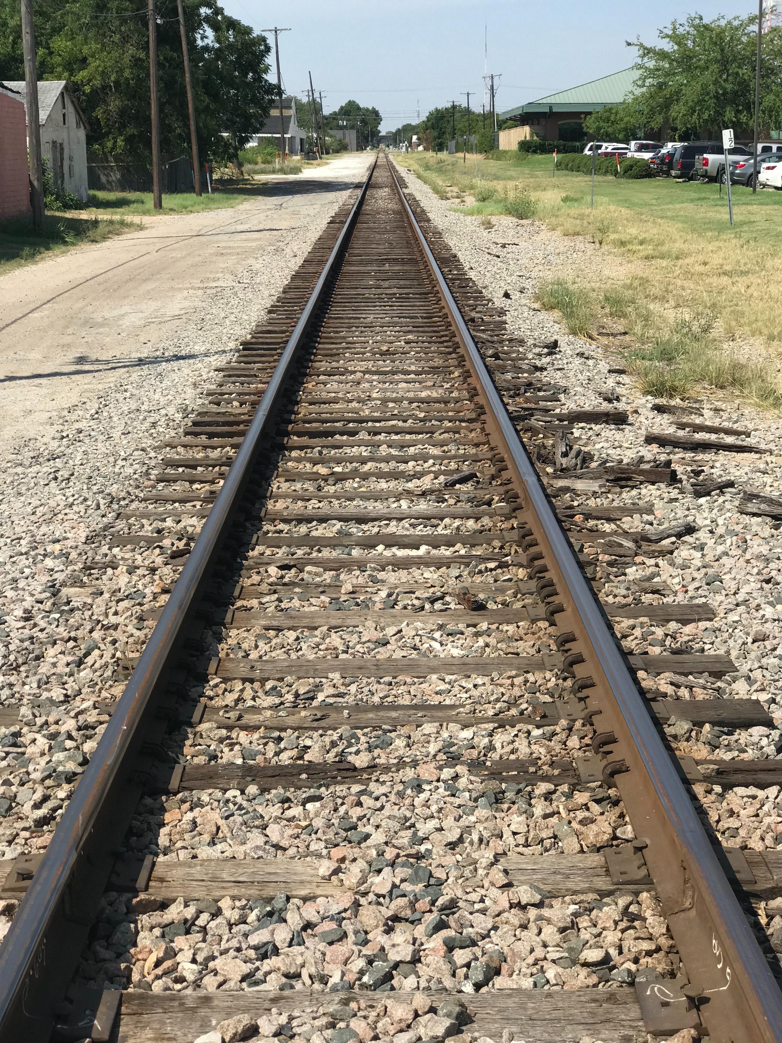 Free stock photo of railroad, railroad track, RR