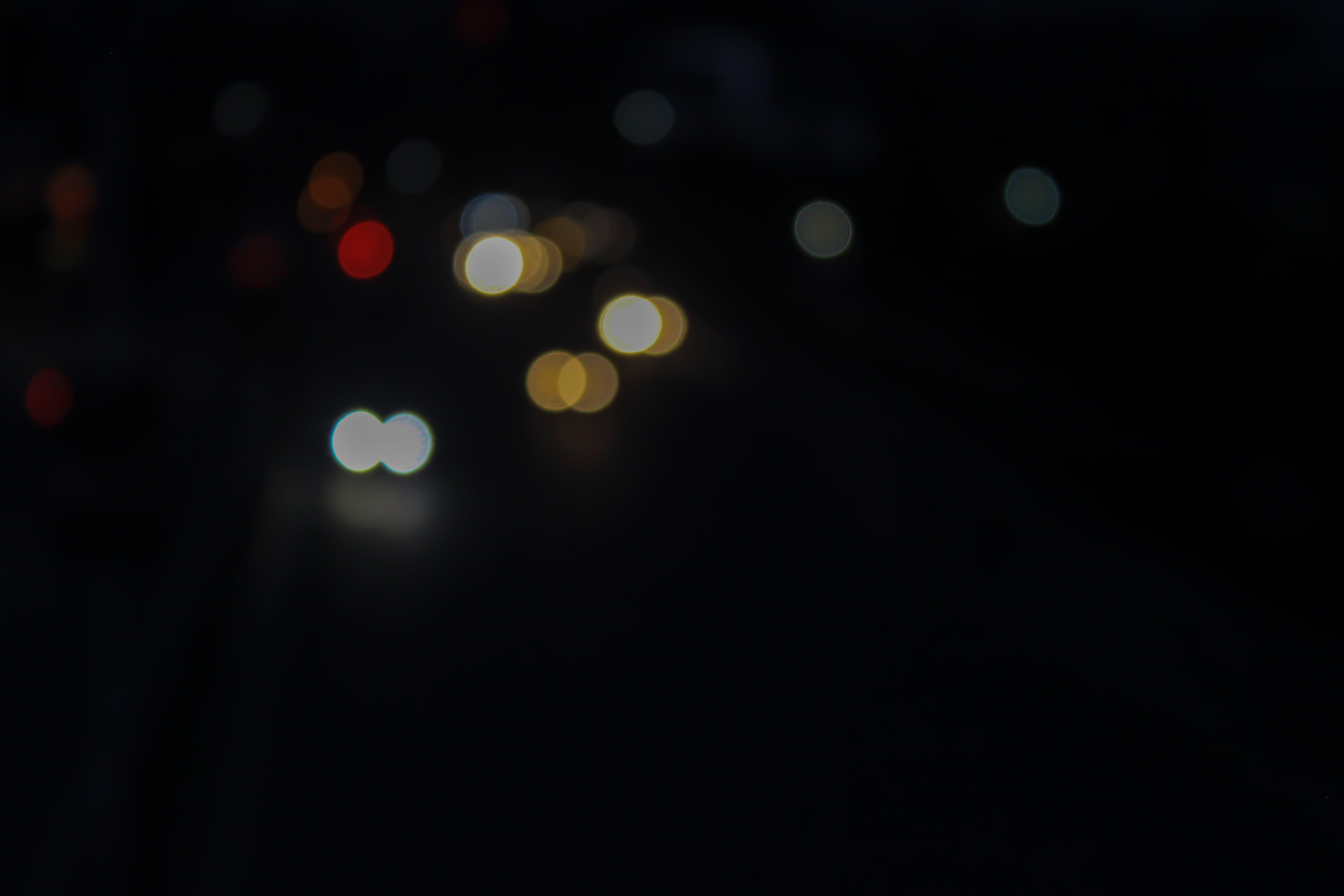 Free stock photo of bokeh, empty street, night city, night photography