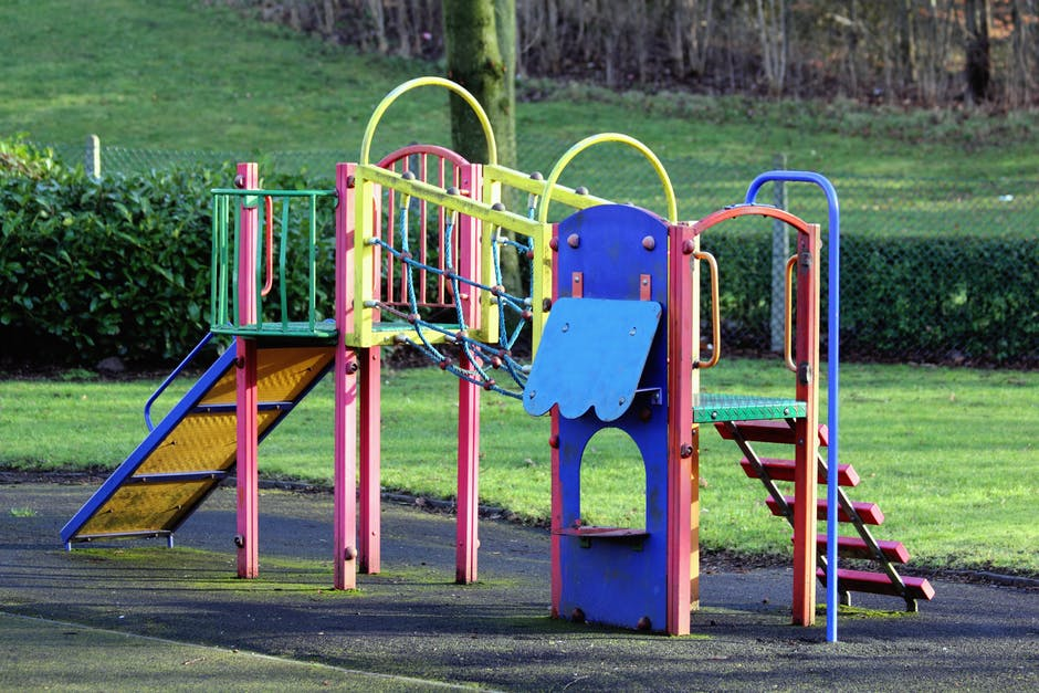 Architectural Photography of Playground
