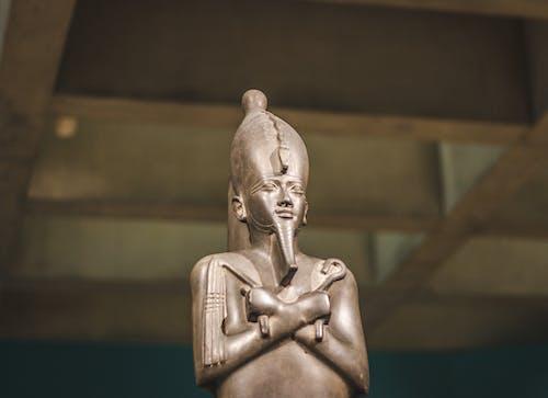 Close-up Photo of Pharaoh Figurine