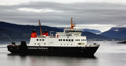 Free stock photo of boat ferry, Bute, ferry, harbour