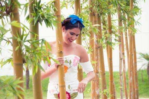 Gratis arkivbilde med bambus, bruke, glad, ha på seg