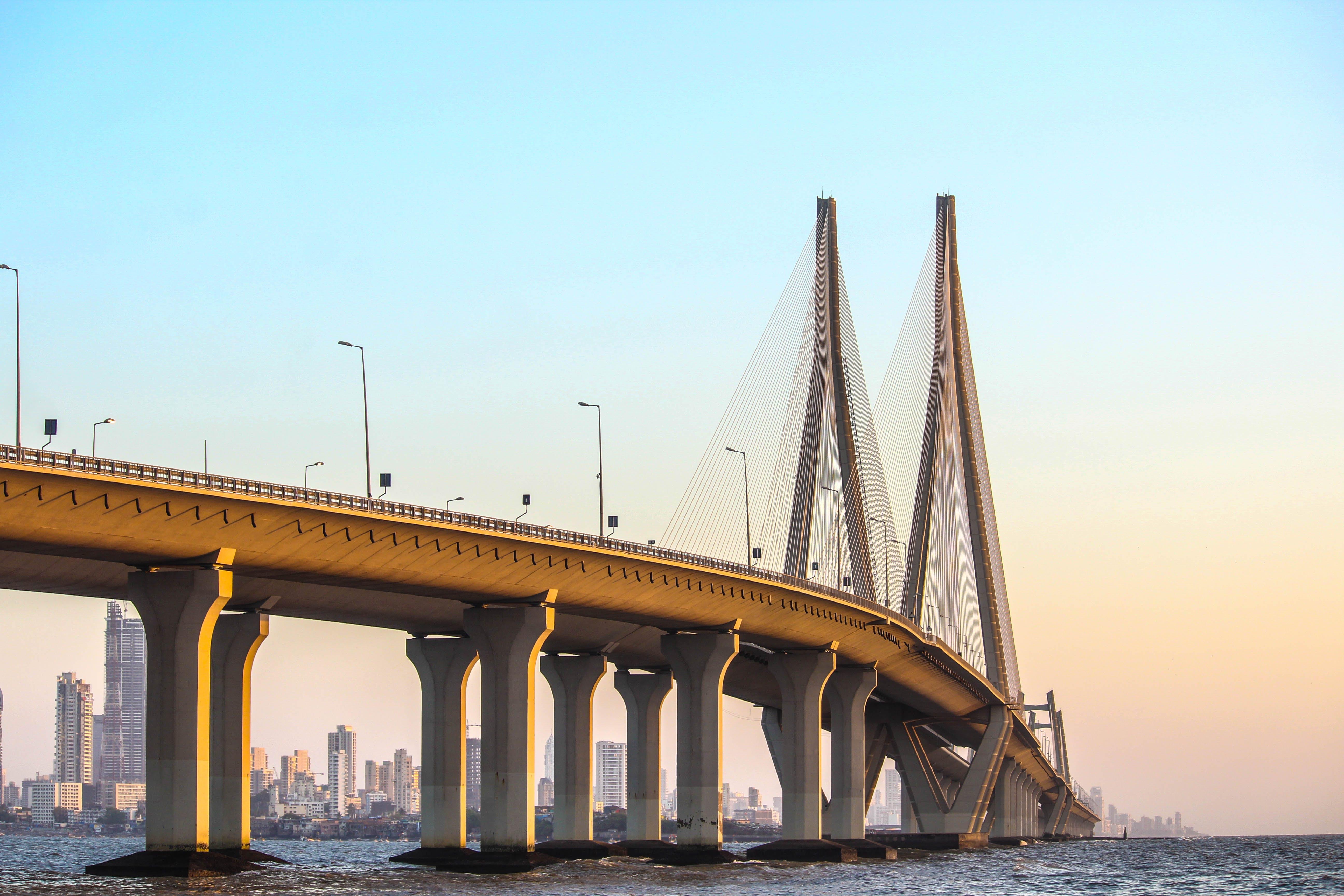 Free stock photo of bandra foart, bandra sea link, india, mumbai