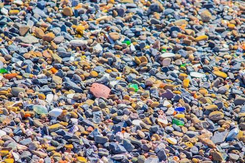 Gratis lagerfoto af baggrund, grus, hav sten