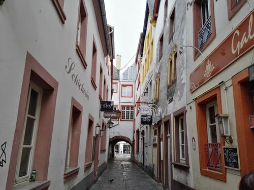 Free stock photo of allyway, germany, trier