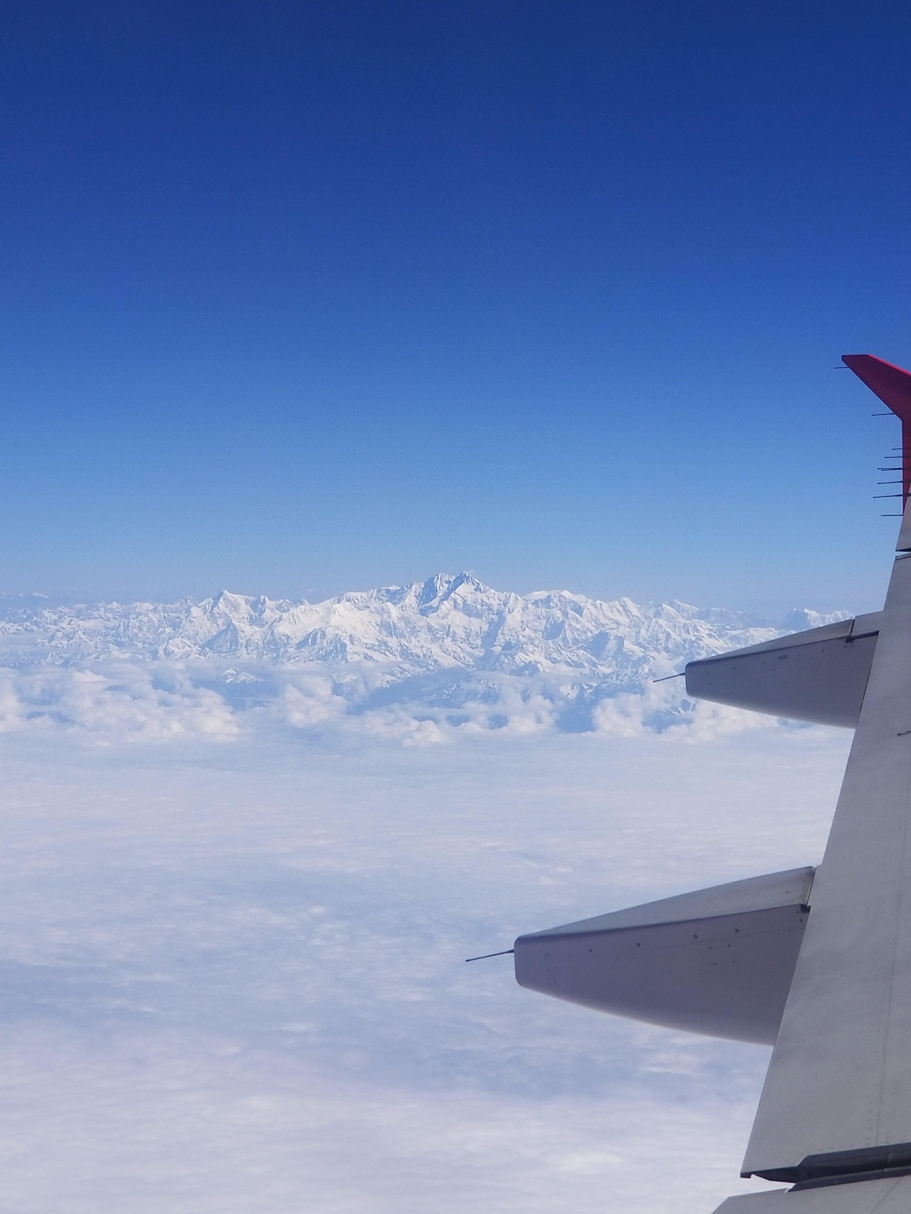 Kostenloses Stock Foto zu schöner blauer himmel