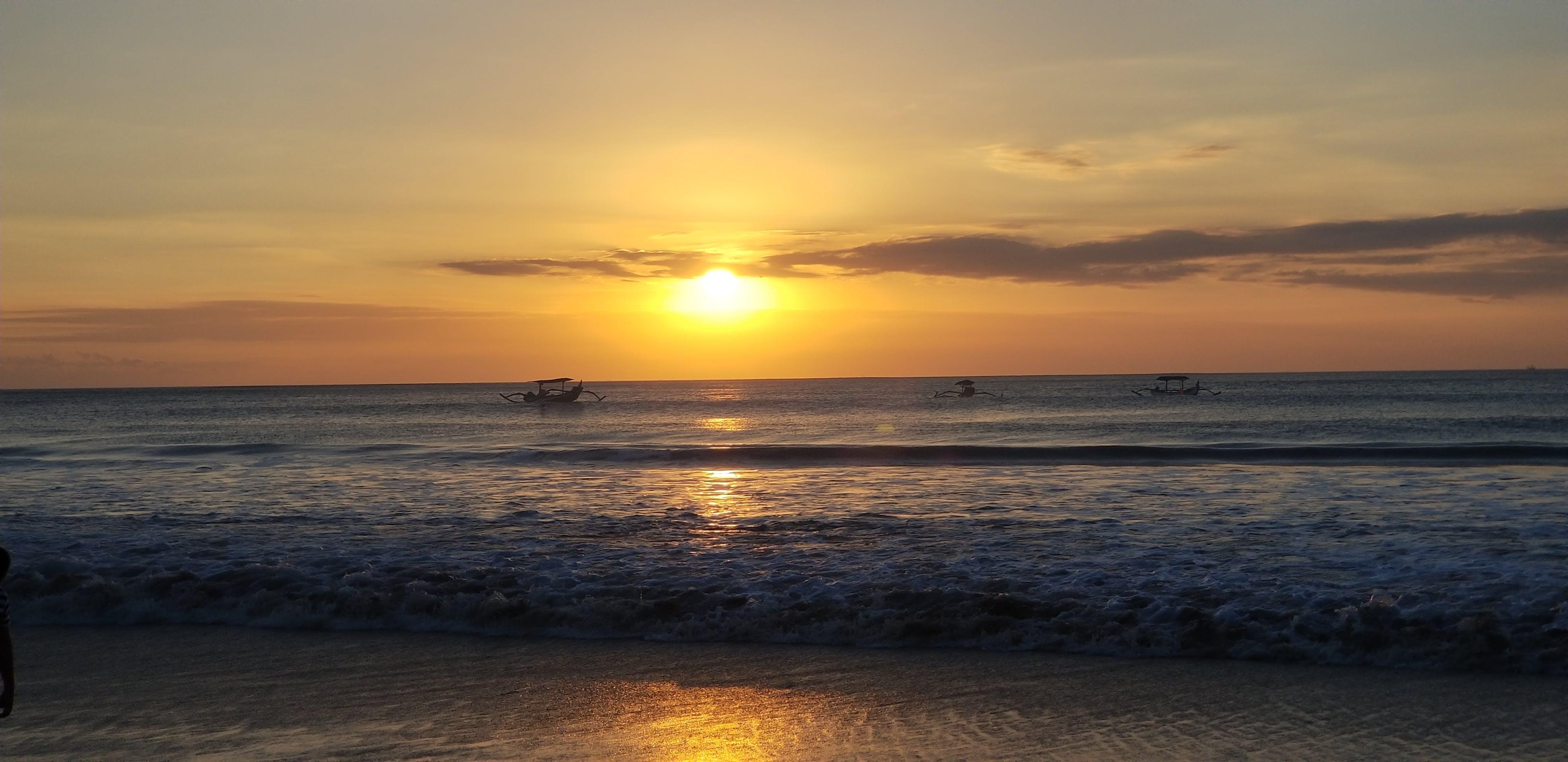 Free stock photo of Beautiful sunset in Bali