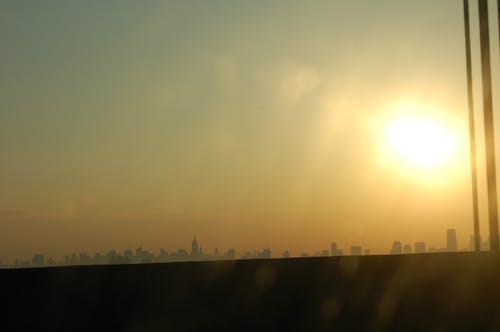 Fotobanka sbezplatnými fotkami na tému mesto New York, New York, panoráma, silueta
