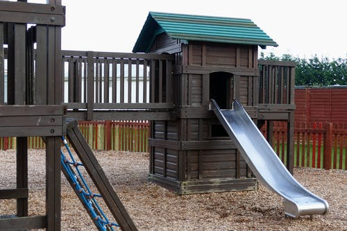 Gray Plastic Slide