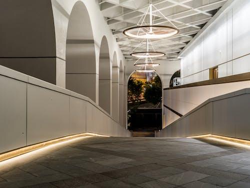 光, 光線, 大廳, 天花板 的 免费素材图片