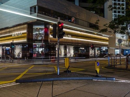 Foto d'estoc gratuïta de carrer, carretera, ciutat, deixants de llum