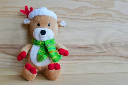 Brown Reindeer Plush Toy