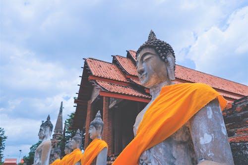Kostnadsfri bild av buddhism, tempel, thailand, thailändsk konst