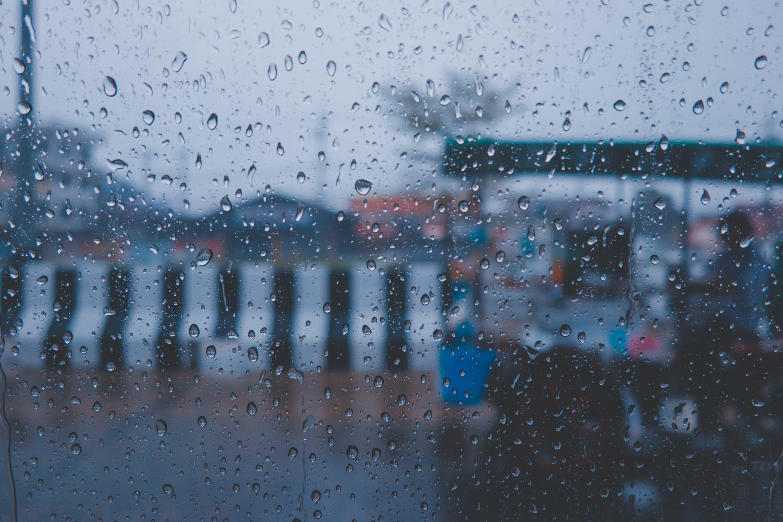 Free stock photo of foodtruck, life, raining, thailand