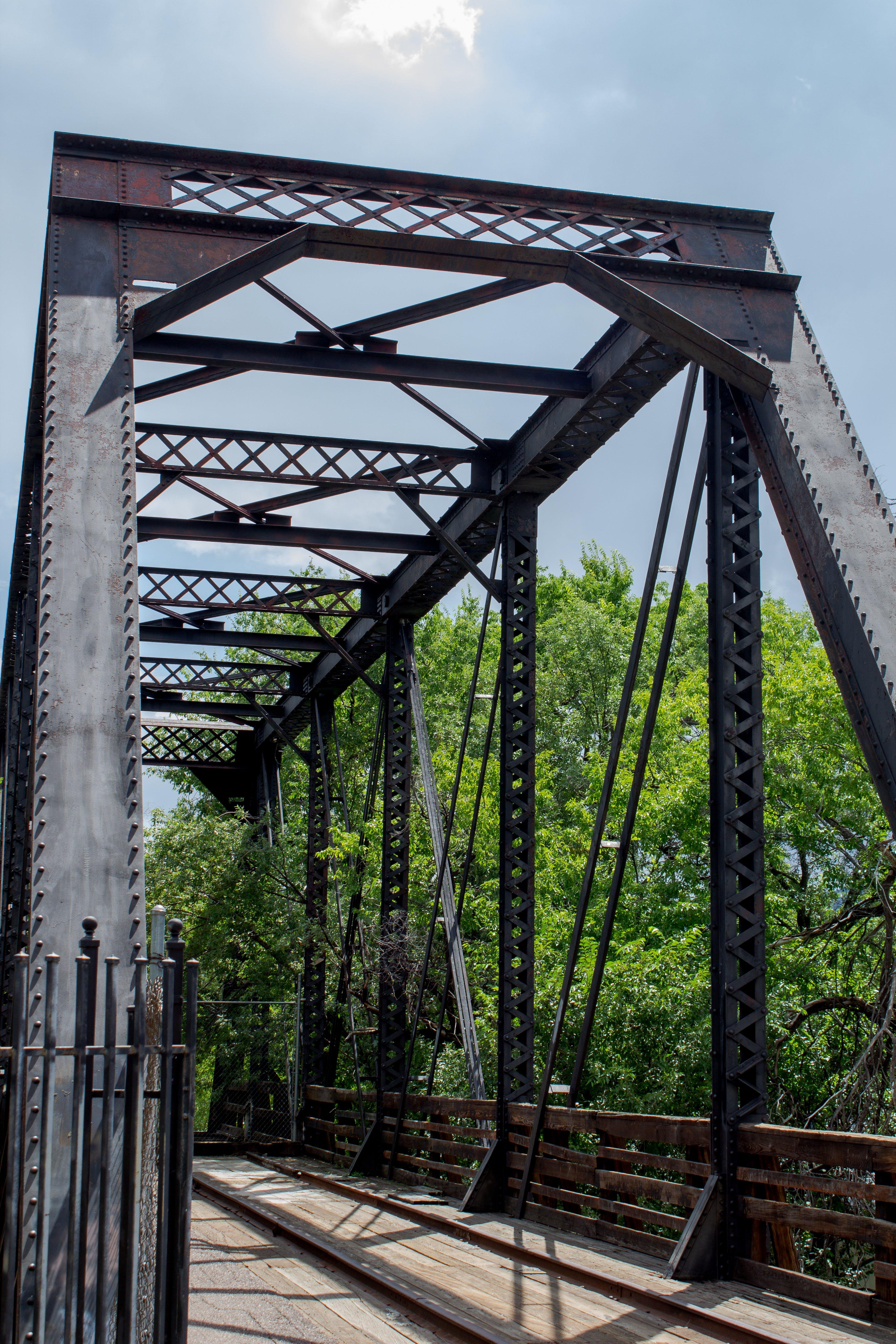 Free stock photo of abandoned, bridge, bright, history