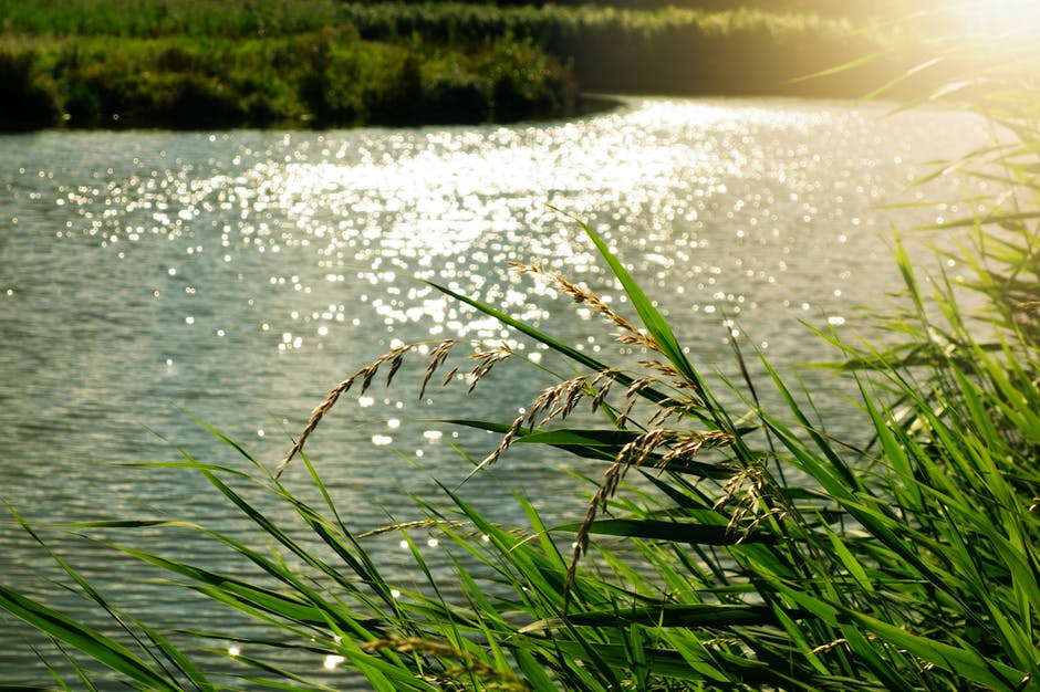 Light nature sky water