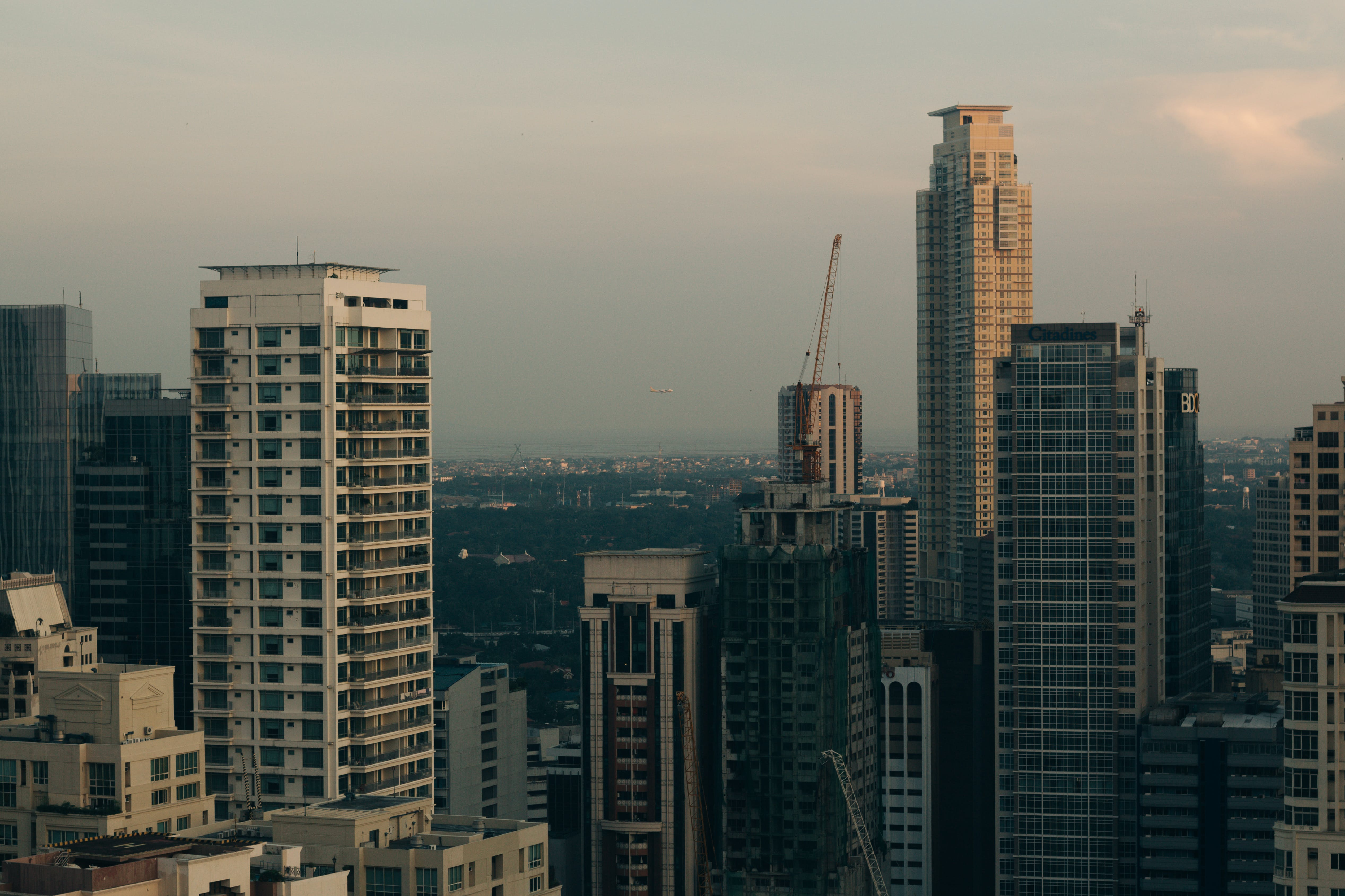 Aereal View of Skyscrapers in the City during Daytime