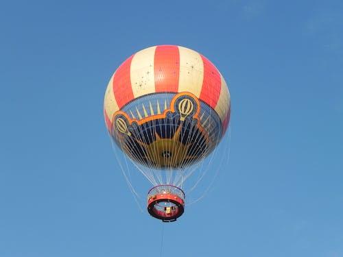 Free stock photo of hotair balloon